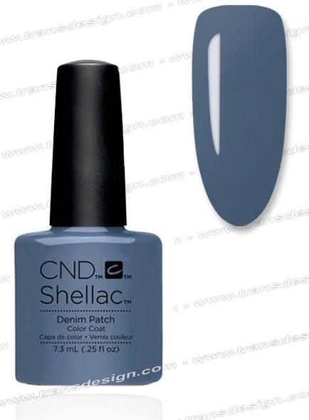 CND SHELLAC - Denim Patch 0.25oz.