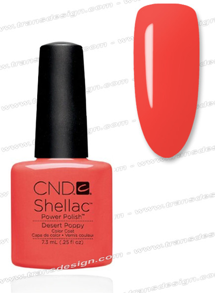 CND SHELLAC - Desert Poppy 0.25oz.
