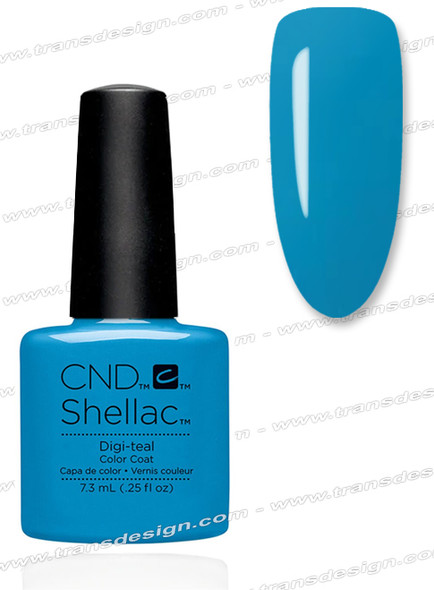 CND SHELLAC - Digi-teal  0.25oz.