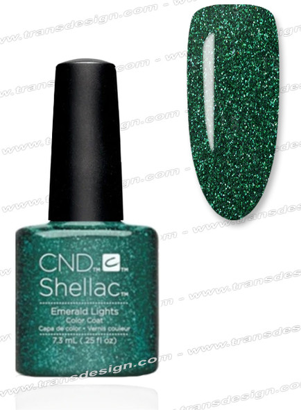 CND SHELLAC - Emerald Lights 0.25oz.