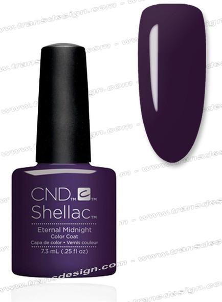 CND SHELLAC - Eternal Midnight 0.25oz.
