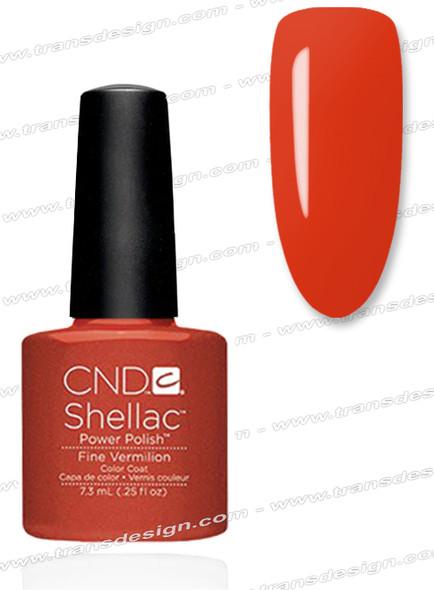 CND SHELLAC - Fine Vermilion 0.25oz.