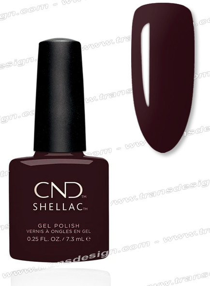 CND SHELLAC - Black Cherry 0.25oz.