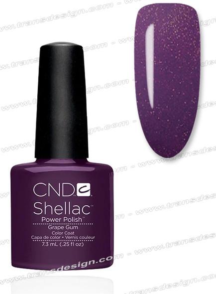 CND SHELLAC Grape Gum 0.25oz.