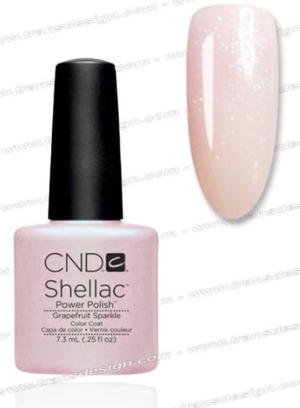 CND SHELLAC Grapefruit Sparkle 0.25oz.