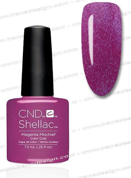 CND SHELLAC - Magenta Mischief  0.25oz.