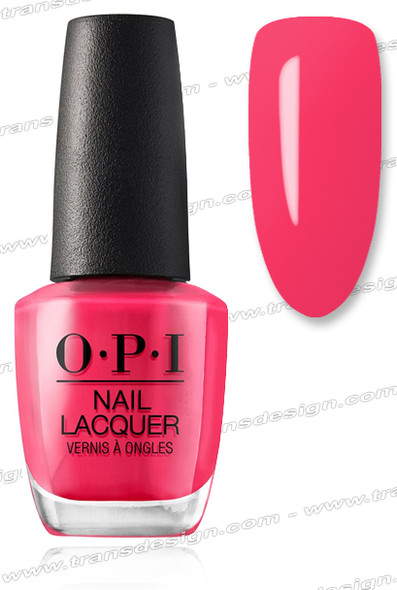 OPI Nail Lacquer - Charged Up Cherry 0.5oz.