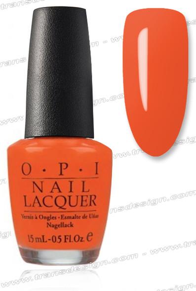 OPI Nail Lacquer - Atomic Orange *