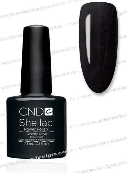 CND SHELLAC - Overtly Onyx 0.25oz. *