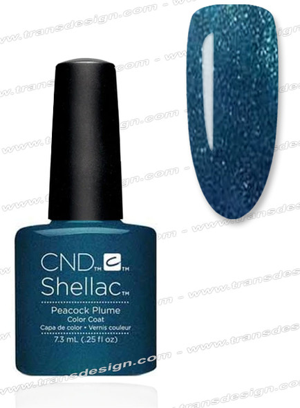 CND SHELLAC -  Peacock Plume 0.25oz.