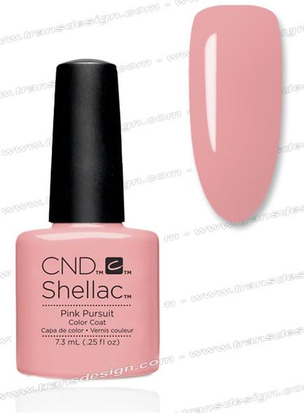 CND SHELLAC -  Pink Pursuit 0.25oz.