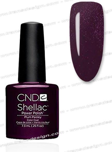 CND SHELLAC -  Plum Paisley 0.25oz.