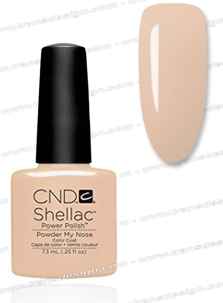CND SHELLAC -  Powder My Nose 0.25oz.