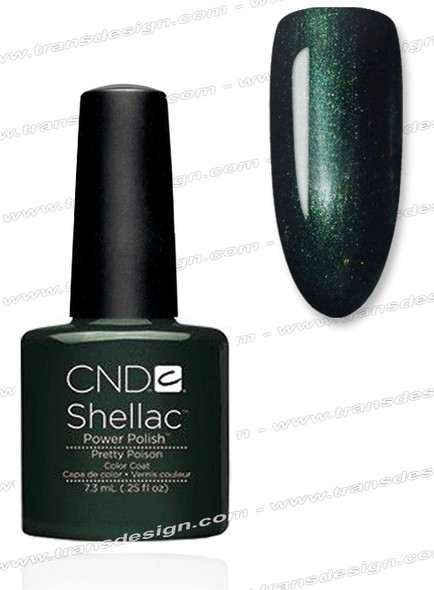 CND SHELLAC -  Pretty Poison 0.25oz.
