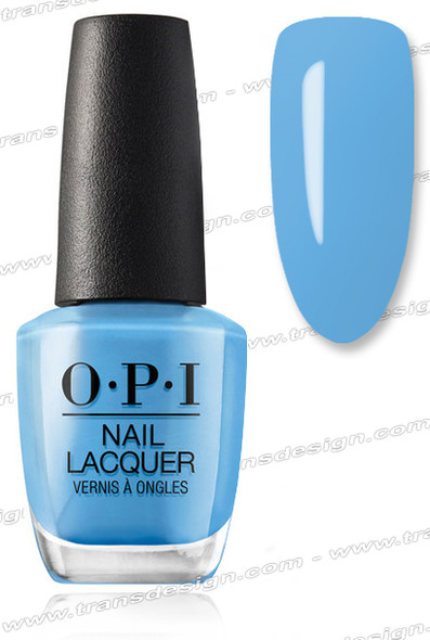 OPI Nail Lacquer - No Room for the Blues