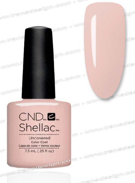 CND SHELLAC - Uncovered  0.25oz.