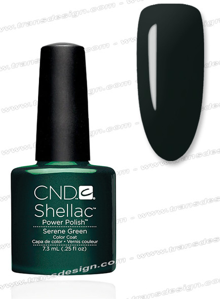 CND SHELLAC - Serene Green 0.25oz. (No Box)