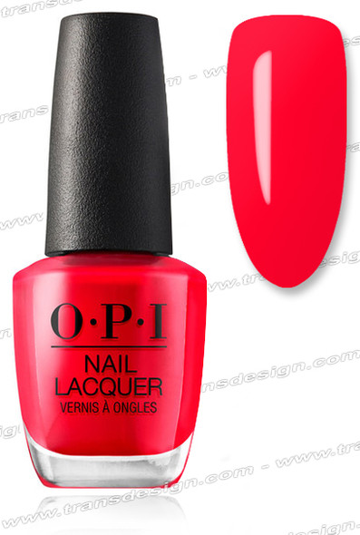 OPI Nail Lacquer - Coca-Cola Red