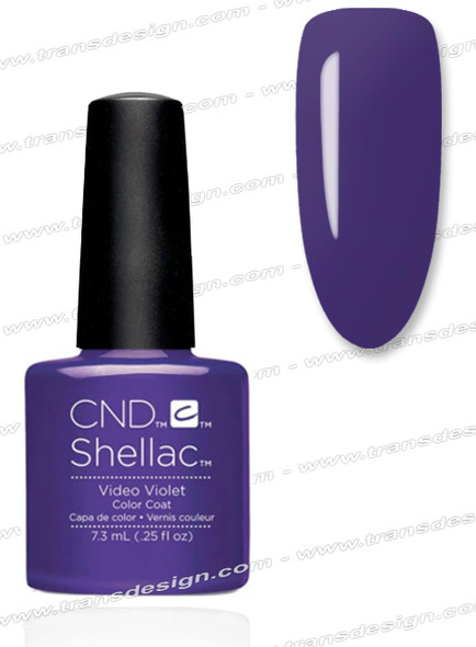 CND SHELLAC - Video Violet 0.25oz.