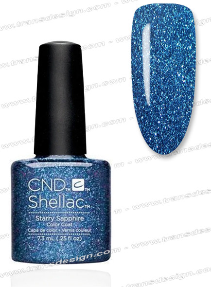 CND SHELLAC - Starry Sapphire 0.25oz.