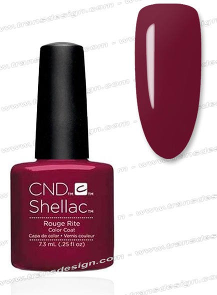 CND SHELLAC - Rouge Rite 0.25oz.