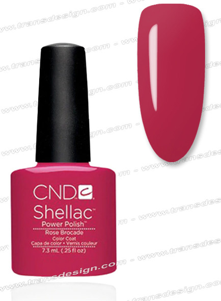 CND SHELLAC - Rose Brocade 0.25oz.