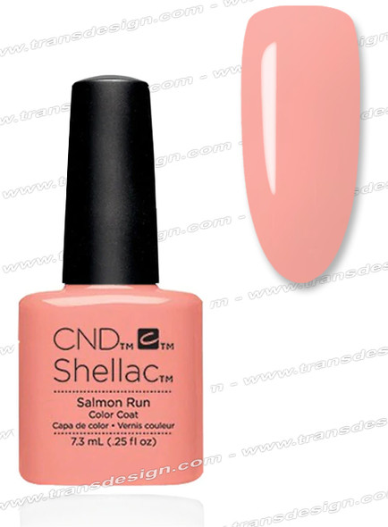 CND SHELLAC - Salmon Run 0.25oz.