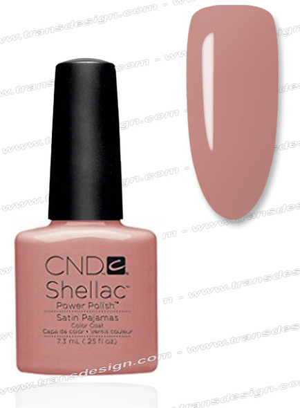CND SHELLAC - Satin Pajamas 0.25oz.