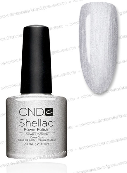 CND SHELLAC - Silver Chrome 0.25oz.