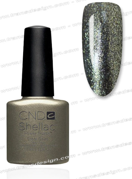 CND SHELLAC - Steel Gaze 0.25oz.*