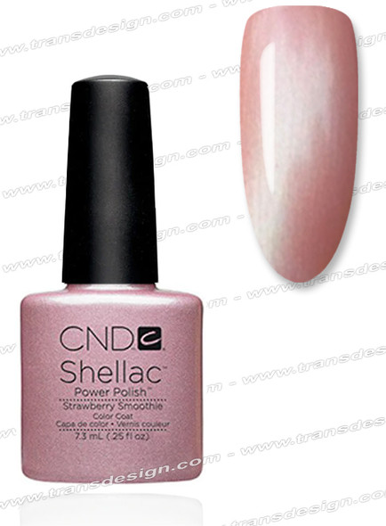 CND SHELLAC - Strawberry Smoothie 0.25oz.