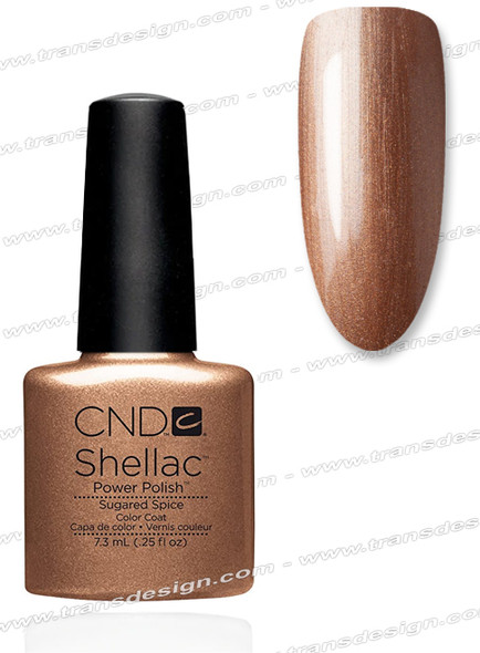 CND SHELLAC - Sugared Spice 0.25oz.