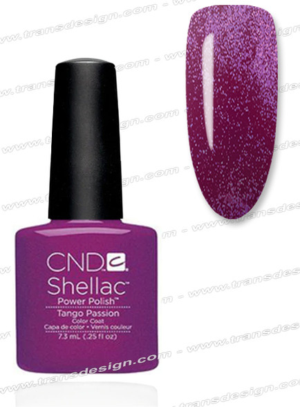 CND SHELLAC - Tango Passion 0.25oz.