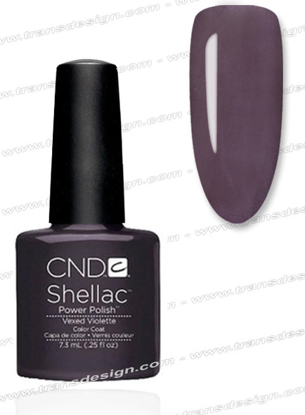 CND SHELLAC - Vexed Violette 0.25oz.*