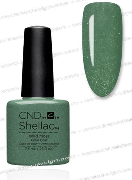CND SHELLAC - Wild Moss 0.25oz. *