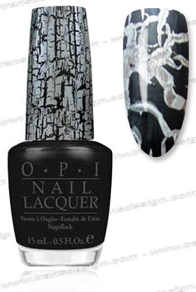 OPI Nail Lacquer - Black Shatter *