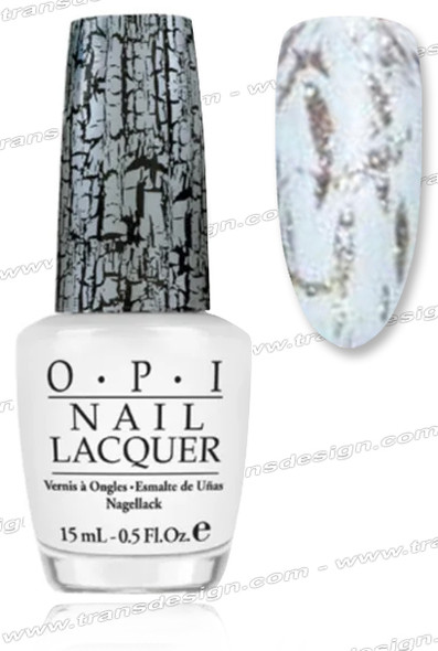 OPI Nail Lacquer - White Shatter *