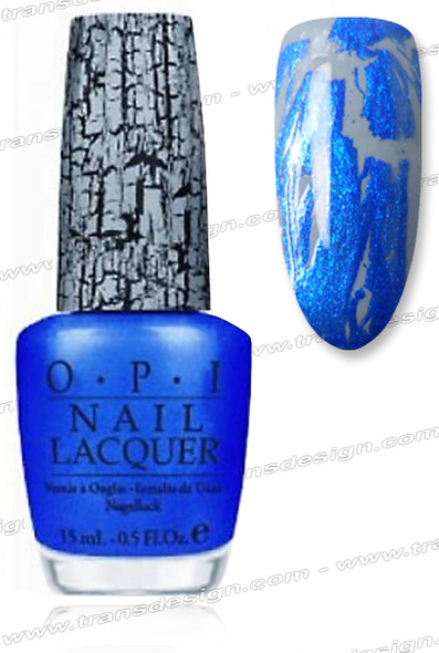 OPI Nail Lacquer - Blue Shatter *