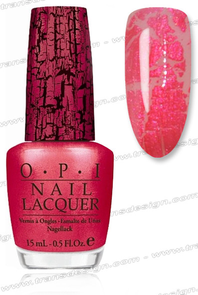OPI Nail Lacquer - Pink Shatter *