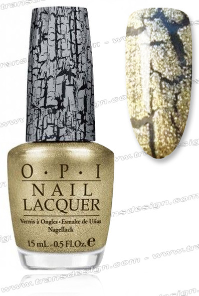 OPI Nail Lacquer - Gold Shatter *