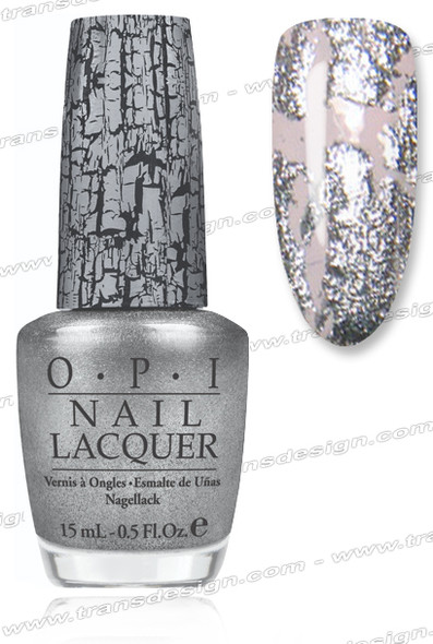 OPI Nail Lacquer - Silver Shatter *