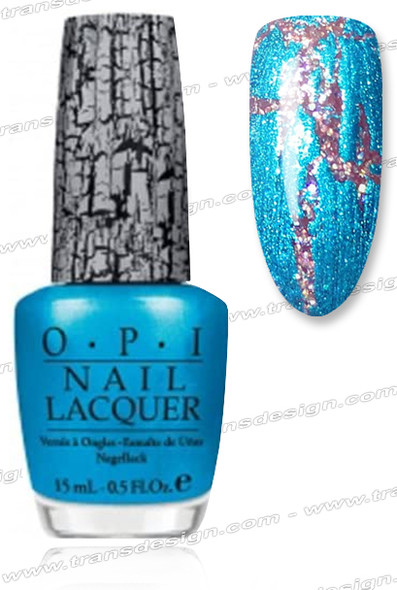 OPI Nail Lacquer - Turquoise Shatter *