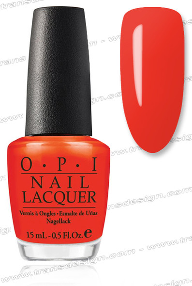 OPI Nail Lacquer - A Roll in the Hague *