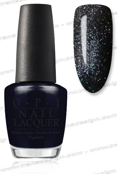 OPI Nail Lacquer - Black Dress Not Optional *
