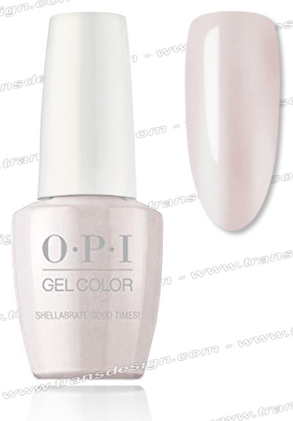 OPI GelColor -  Shellabrate Good Times! 0.5oz.