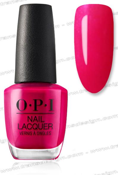 OPI Nail Lacquer - California Raspberry