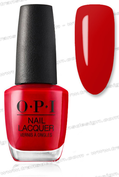 OPI Nail Lacquer - Big Apple Red