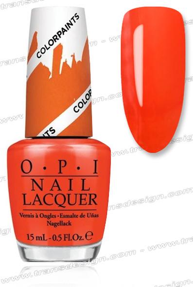OPI Nail Lacquer - Chromatic Orange *