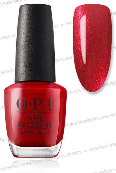 OPI Nail Lacquer - A Little Guilt Under the Kilt