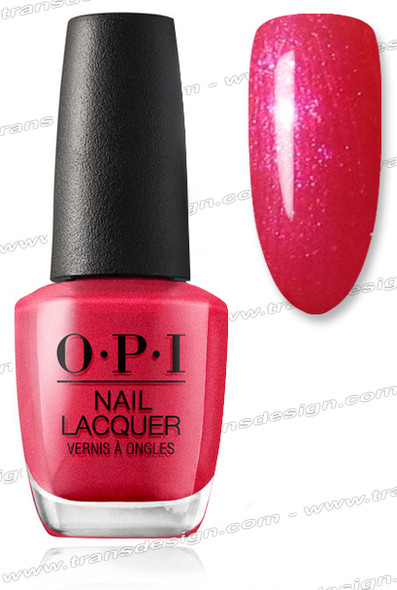 OPI Nail Lacquer - Cha-Ching Cherry